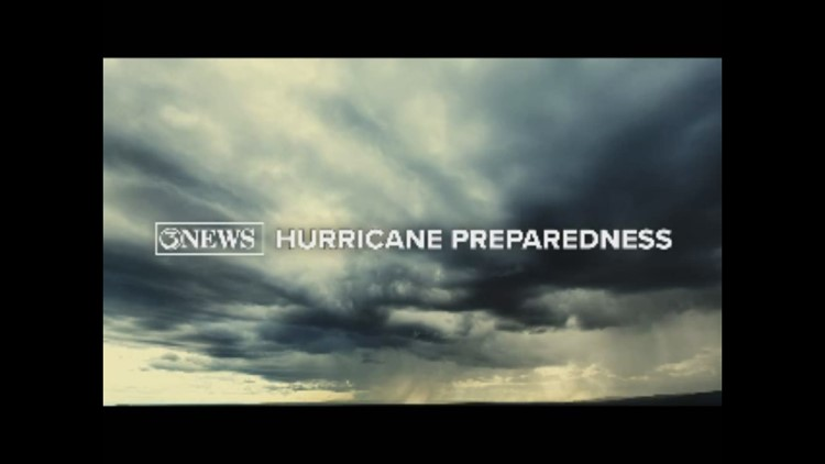 Hurricane Quick Tip: Stock up on water and food