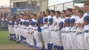 Javelinas baseball hangs on in tight 9th inning for win over No. 5 West Texas A&M - 3Sports