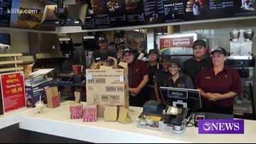 McDonald's employees help Good Samaritan feed the homeless