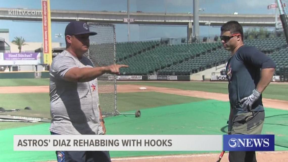Astros' Aledmys Diaz rehabs with Hooks - 3Sports