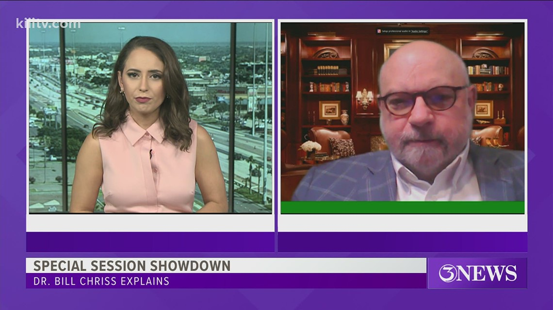 Political Analyst explains the latest special session showdown