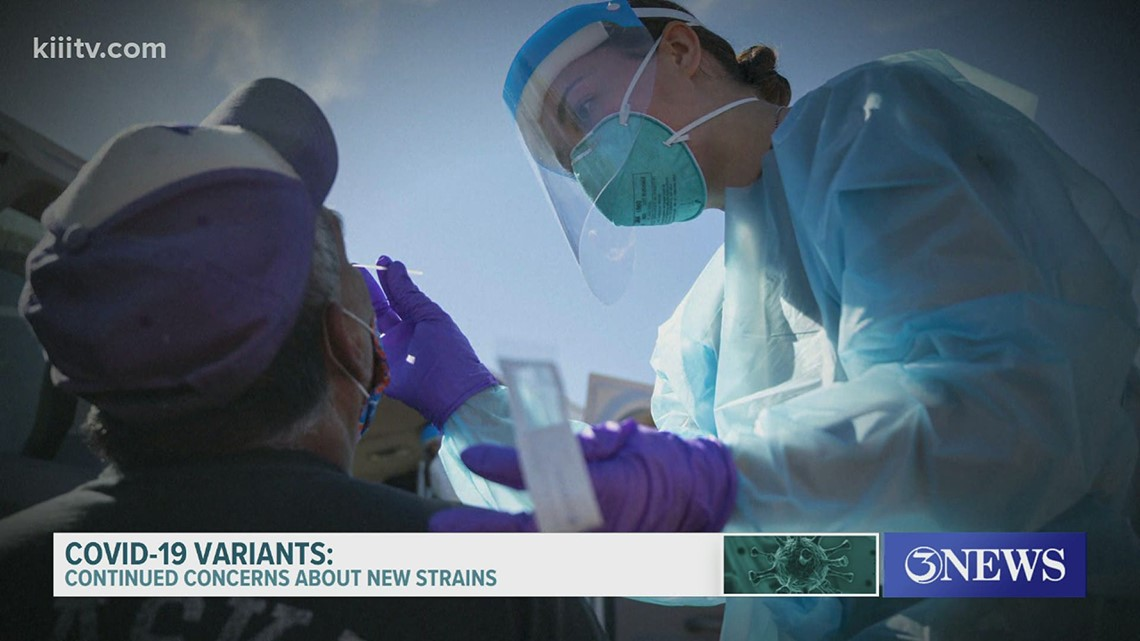 Will the new strains of the coronavirus impact the number of cases in the Coastal Bend? Health expert explains
