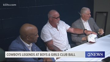Cowboys Legends appear at Boys and Girls Club Ball - 3Sports