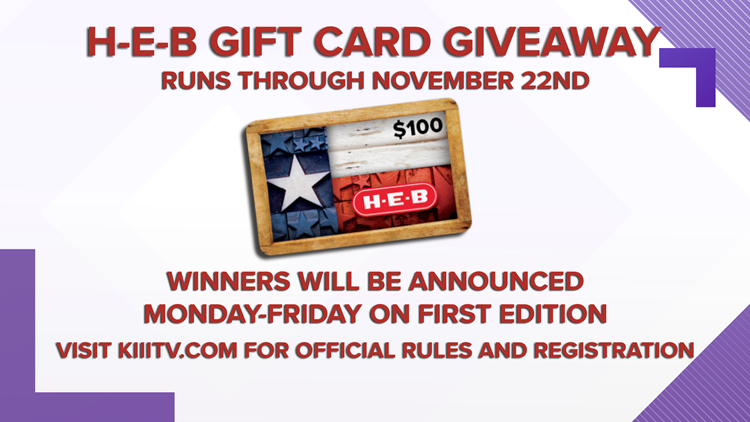 H-E-B $100 Giftcard Giveaway: Register for your chance to win!