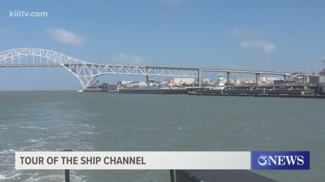 port of corpus christi offers tour of ship channel