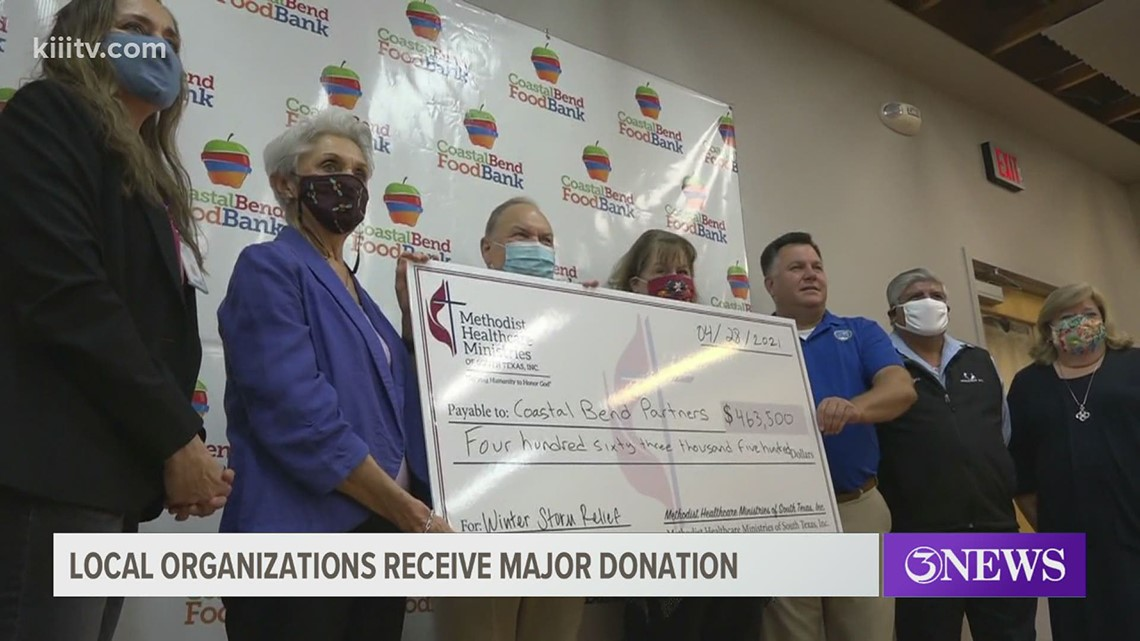 Major donations for multiple service organizations in the Coastal Bend