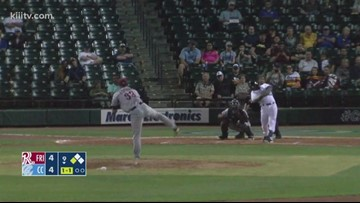 Hooks start home series with a walk-off win - 3Sports