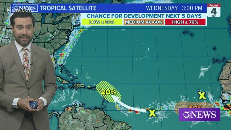 Tropical Update: Atlantic showing signs of life