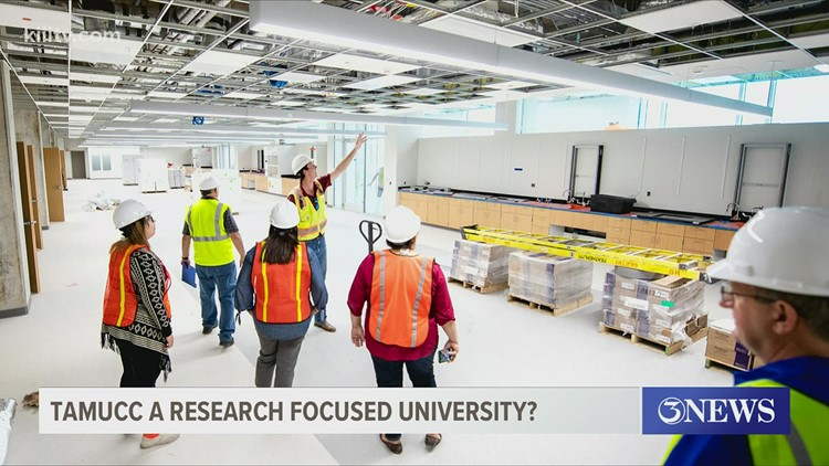 TAMU-CC takes part in upcoming project that could make it an official research-focused institution