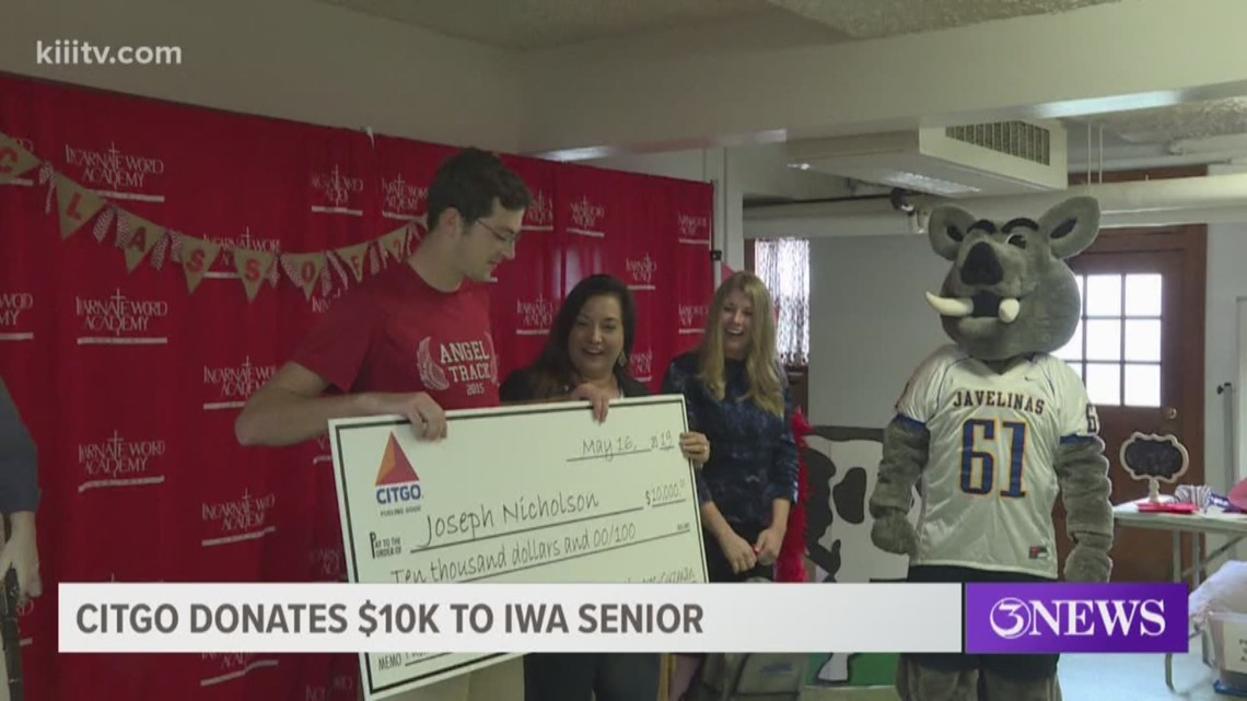 Incarnate Word Academy student gets $10,000 scholarship from CITGO