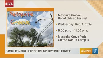 First Edition: TAMUK concert benefiting 'Triumph Over Kid Cancer'