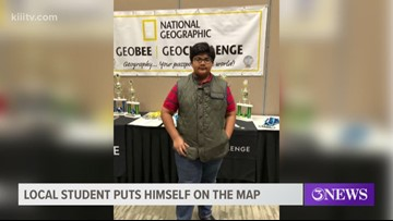 Corpus Christi eighth grader gets first in National Geographic Competition