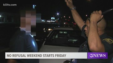 No Refusal Weekend with CCPD begins Friday