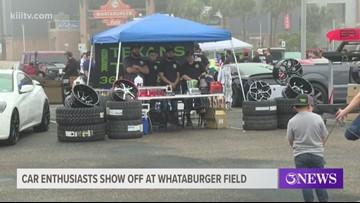 All Team Bash host car meet at Whataburger Field
