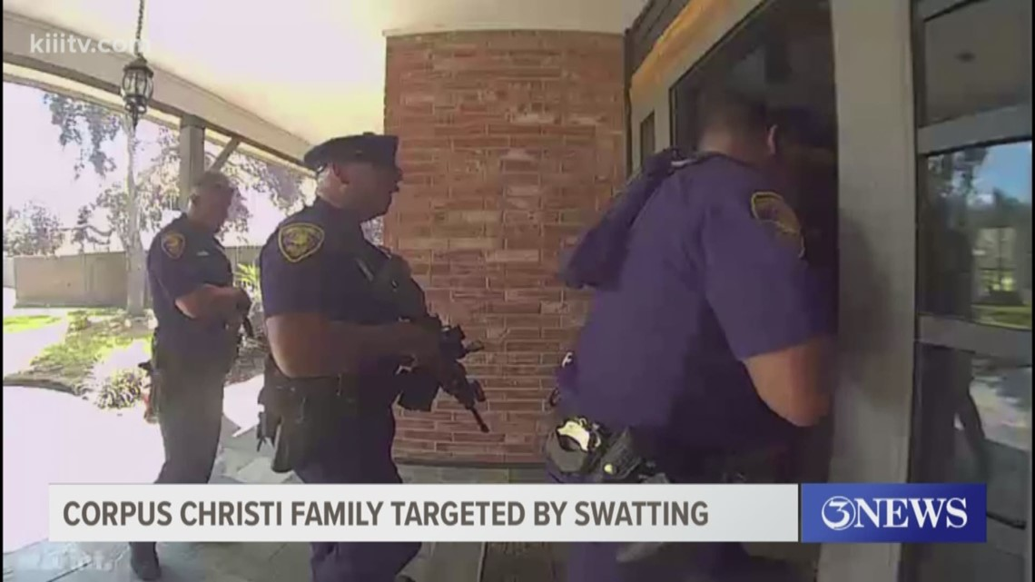 Corpus Christi family targeted by 'swatting'
