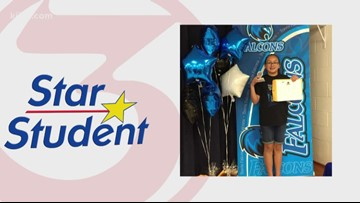 3 Star Student: Katiana Sanchez
