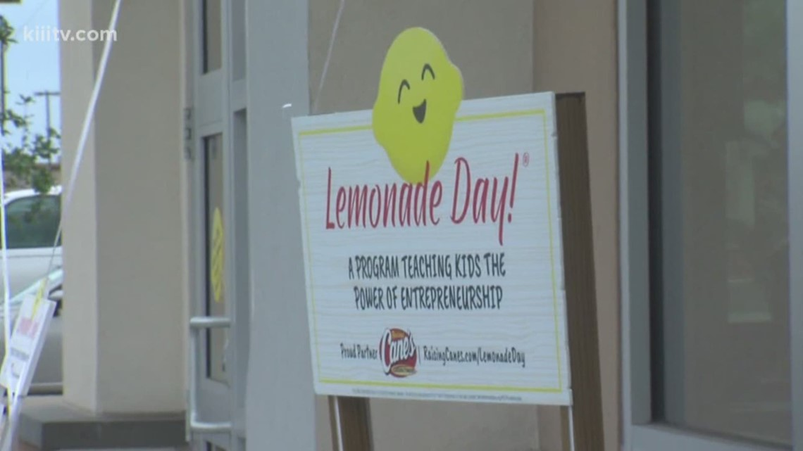 Lemonade Day kicks off with Raising Cane's Restaurant