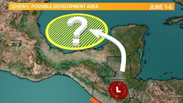 WEATHER BLOG: Potential tropical development in the Gulf of Mexico