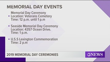 Weekend full of events for Memorial Day