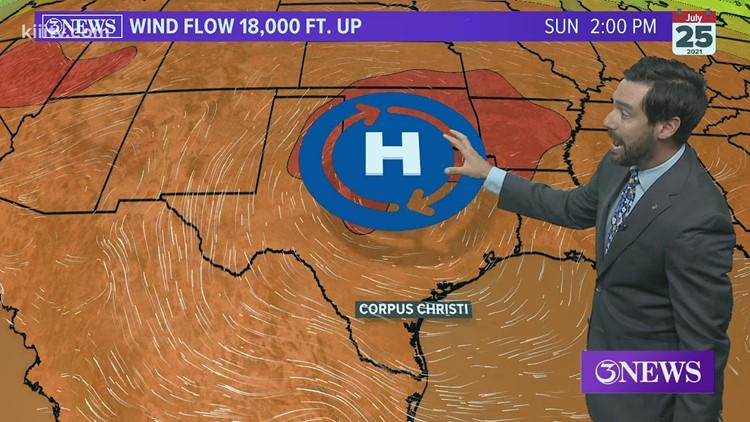 Alan Holt KIII South Texas Weather Forecast 07-21-2021