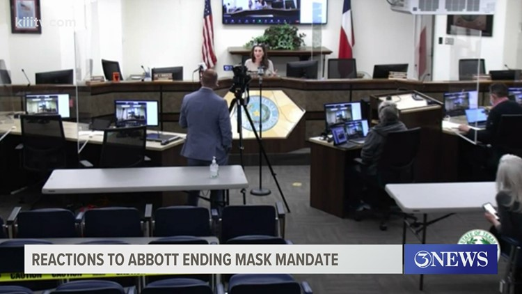 Nueces County Judge says the county will follow and comply with Gov. Abbott's order