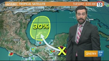 WEATHER BLOG: Tropical wave headed for the Western Gulf of Mexico
