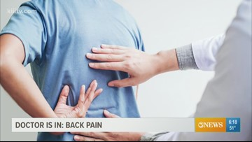 The Dr. Is In - back pain