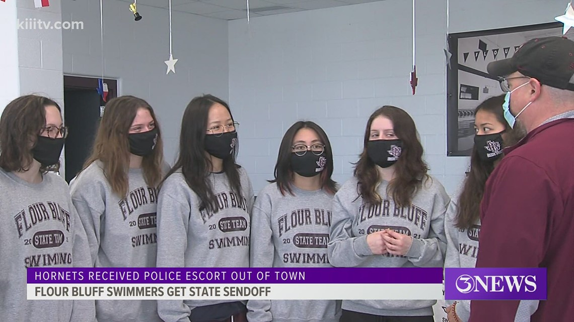 Flour Bluff girls swimming gets sendoff to state - 3Sports