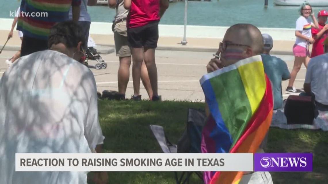 Corpus Christi reaction to new smoking age law