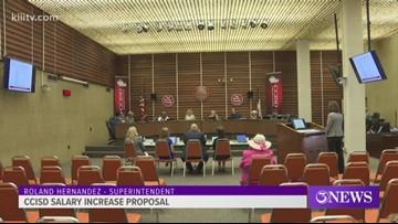CCISD board discusses plan to increase teacher salaries