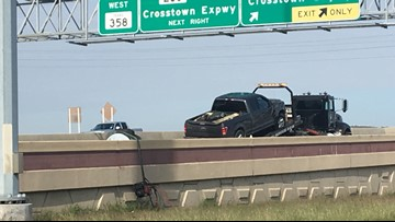 TxDOT called to clean up after accident causes spill on Highway 358