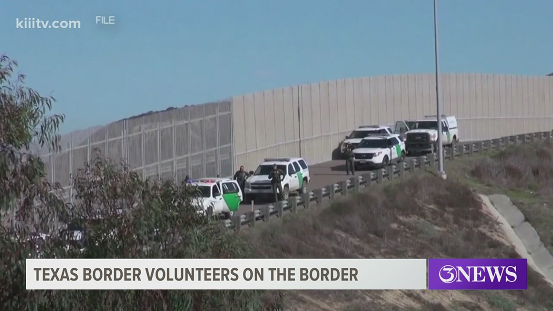 Texas Border Volunteer group trying to stop human smuggling by locating undocumented immigrants and alerting the Border Patrol