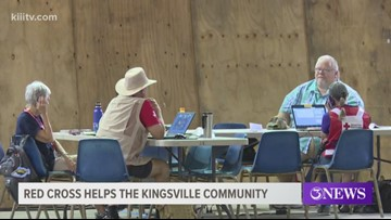 Red Cross helps Kingsville residents affected by storm