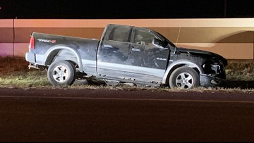 Man arrested after leading state troopers on chase, crashing in Robstown