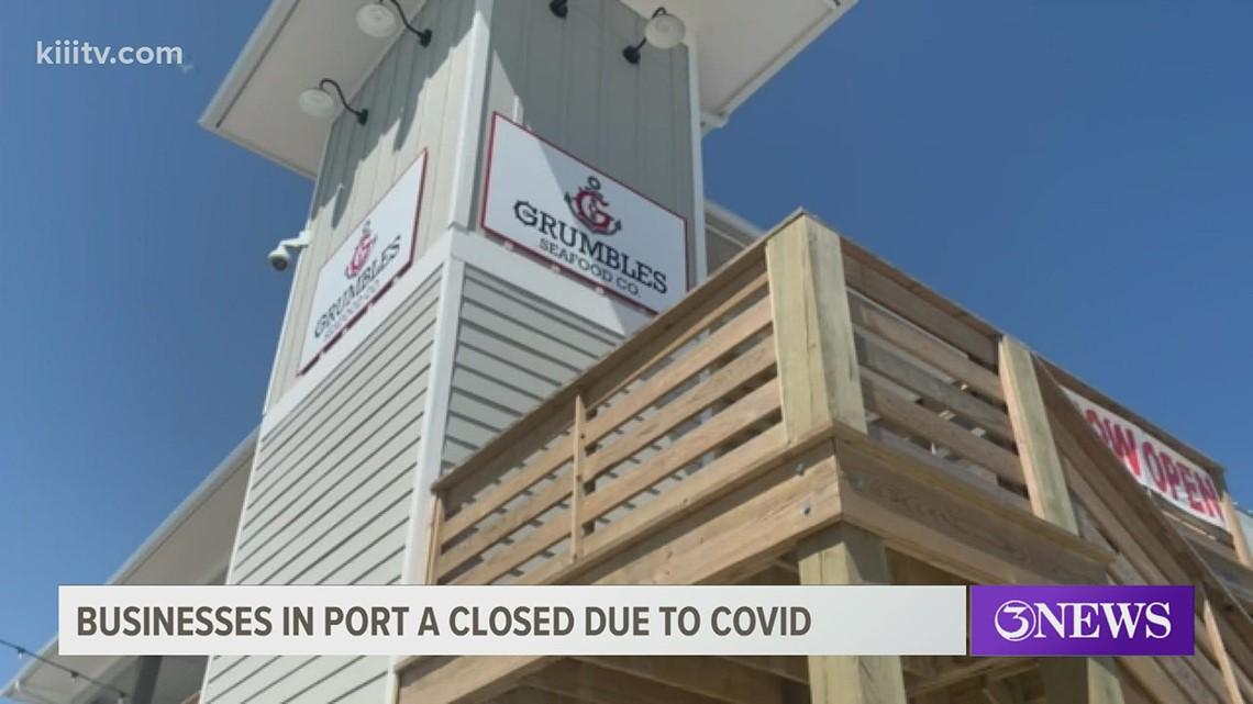 Multiple businesses in Port Aransas close due to COVID-19 surge, Mayor Bujan announces