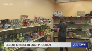 Federal rules will have impact on Coastal Bend SNAP program