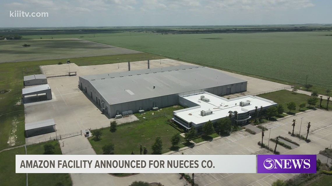 Amazon expands to Nueces County with a new delivery hub in Robstown