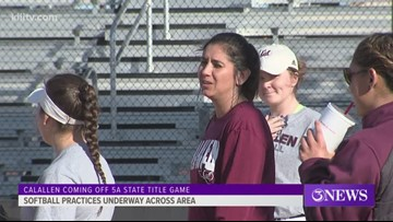 Calallen softball looking for return to state - 3Sports
