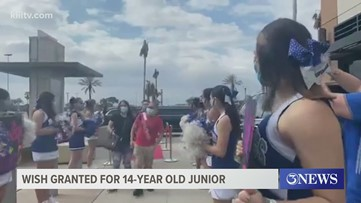 Make-A-Wish gives Coastal Bend teen a shopping spree