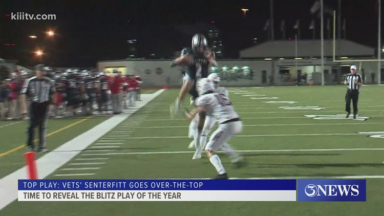Blitz Play of the Year: Veterans Memorial's Carter Senterfitt goes over-the-top - 3Sports