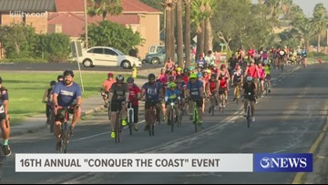Thousands ride in 16th Annual Conquer the Coast event
