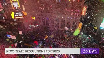 Coastal Bend residents share New Years resolutions, wishes for 2020