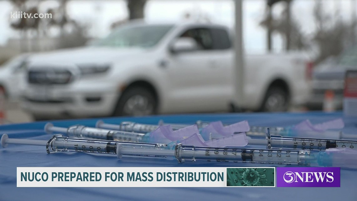 Health District preparing for mass vaccine distributions as more vaccines make their way to the Coastal Bend