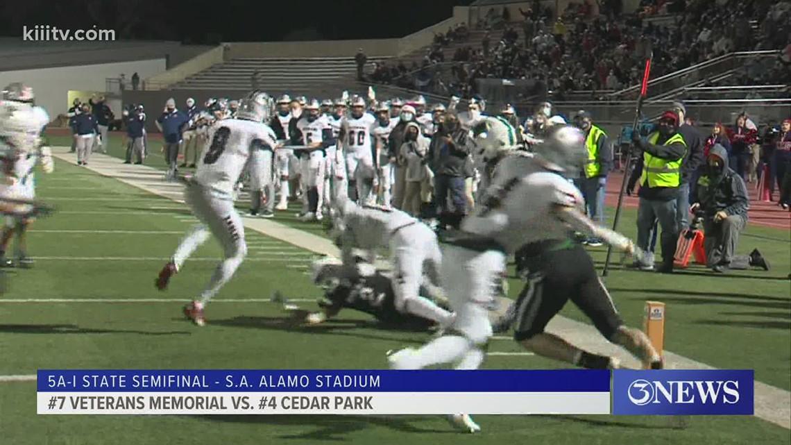 FINAL: Cedar Park beats Vets 61-28