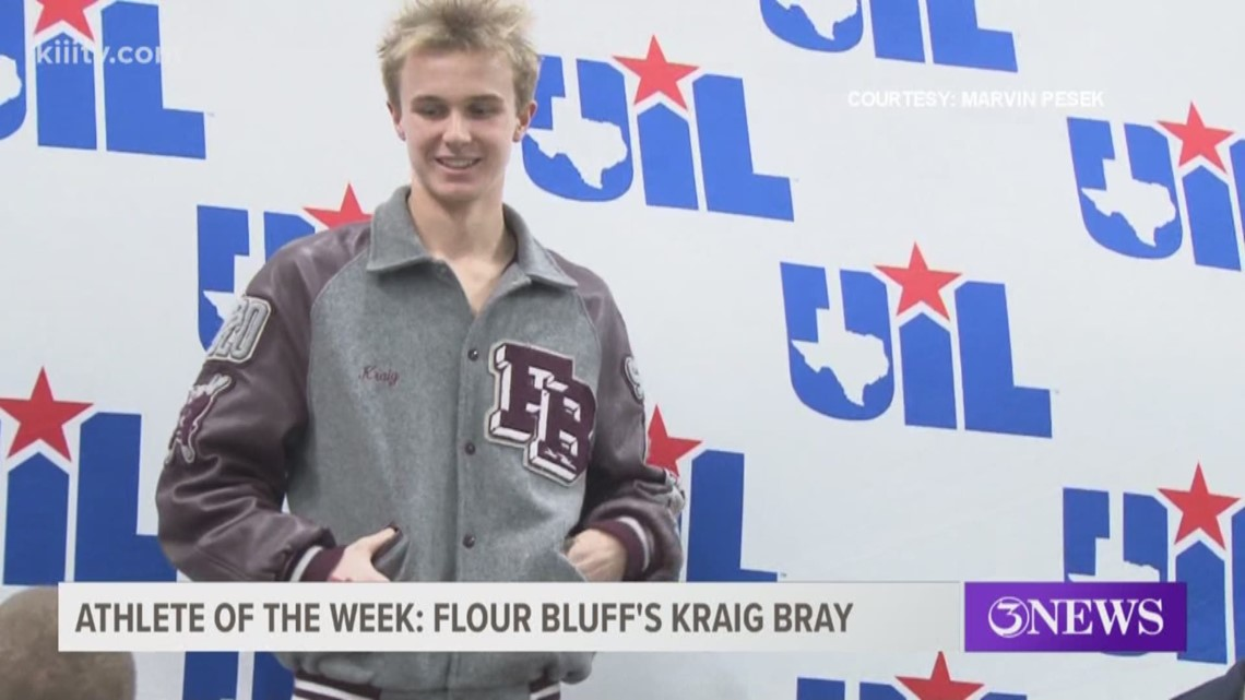 Athlete of the Week: Flour Bluff's Kraig Bray - 3Sports