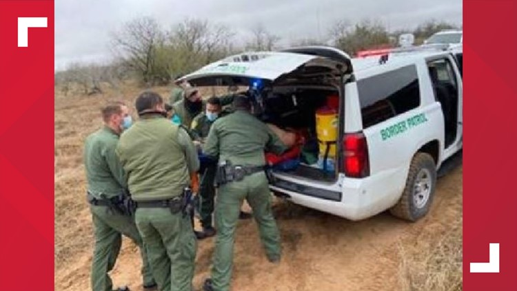 Border Patrol agents rescue man who severed foot while train-jumping near Hebbronville