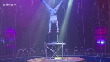See the Cirque Italia Water Circus this weekend in Robstown, Texas