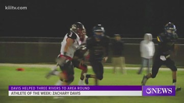 Athlete of the Week: Three Rivers' Zachary Davis - 3Sports