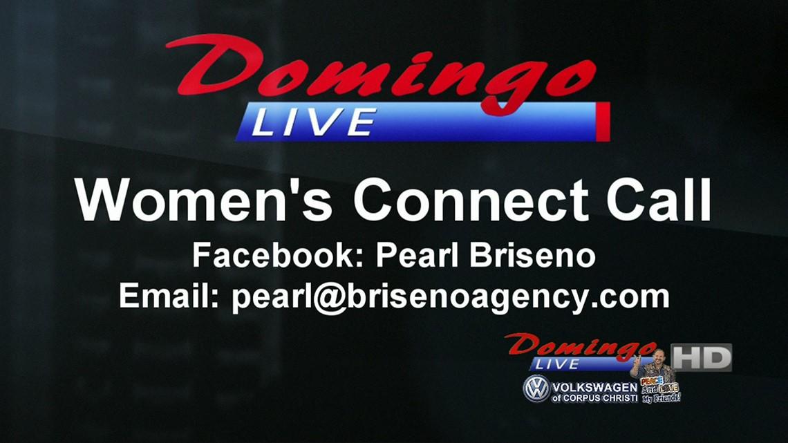 Domingo Live: Women's Connect Call- Pearl Briseno
