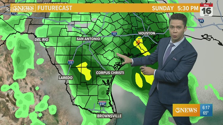 Ryan Shoptaugh KIII South Texas Weather Forecast 05-13-2021